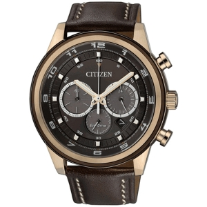 Citizen Eco-Drive Chronograph CA4037-01W Watch Strap