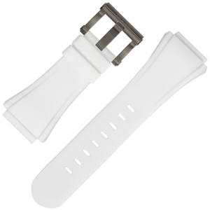 TW Steel Watch Strap CE5002 White Rubber 30mm