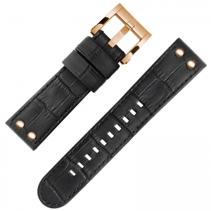 TW Steel CEO Adesso Watch Strap CE7011 Black 22mm