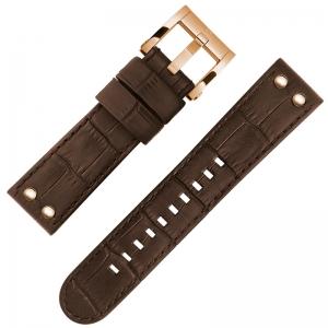 TW Steel CEO Adesso Watch Strap CE7013 Dark Brown 22mm