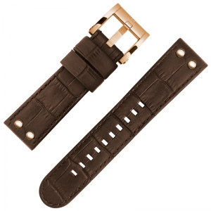 TW Steel CEO Adesso Watch Strap CE7017 Brown 22mm