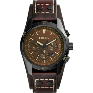 Fossil CH2990 Watch Strap Brown Leather