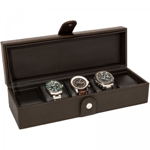 La Royale Classico 5 Watchbox Brown - 5 watches