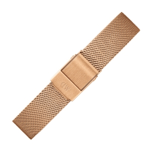 Daniel Wellington 14mm Petite Melrose Mesh Watch Bracelet Rosegold