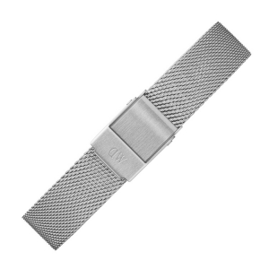 Daniel Wellington 14mm Petite Sterling Mesh Watch Bracelet Stainless Steel