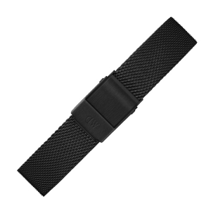 Daniel Wellington 14mm Petite Ashfield Mesh Watch Bracelet Black