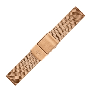 Daniel Wellington 12mm Petite Melrose Mesh Watch Bracelet Rosegold