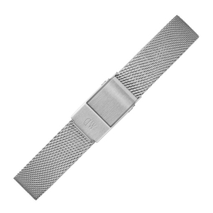 Daniel Wellington 12mm Petite Sterling Mesh Watch Bracelet Stainless Steel