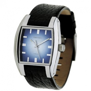 Diesel DZ1032 Watch Strap Black Leather