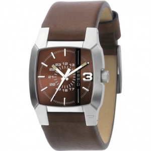 Diesel DZ1090 Watch Strap Brown Leather