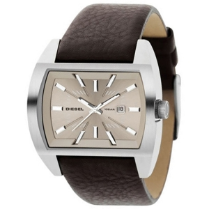 Diesel DZ1113 Watch Strap Brown Leather