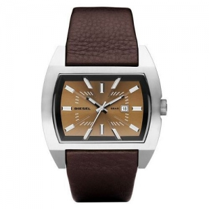 Diesel DZ1114 Watch Strap Brown Leather