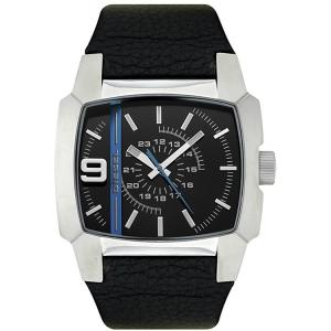 Diesel DZ1131 Watch Strap Black Leather