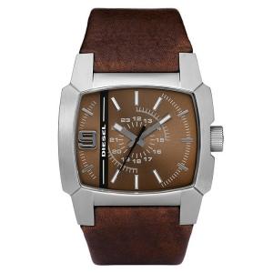 Diesel DZ1132 Watch Strap Brown Leather
