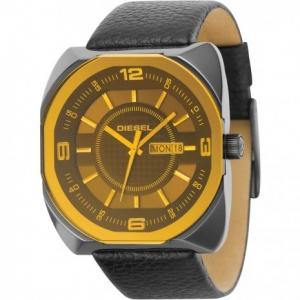 Diesel DZ1187 Watch Strap Black Leather