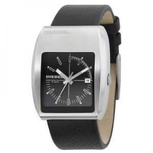 Diesel DZ1192 Watch Strap Black Leather