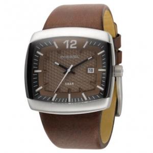 Diesel DZ1204 Watch Strap Brown Leather