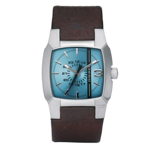 Diesel DZ1123 Watch Strap Brown Leather