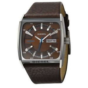 Diesel DZ1254 Watch Strap Brown Leather