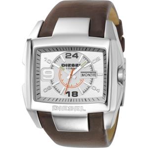 Diesel DZ1273 Watch Strap Brown Leather