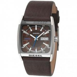 Diesel DZ1293 Watch Strap Brown Leather