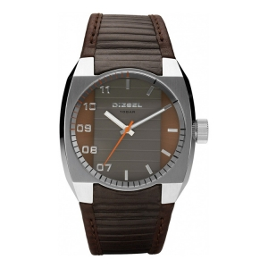 Diesel DZ1394 Watch Strap Brown Leather