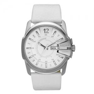 Diesel DZ1405 Watch Strap White Leather