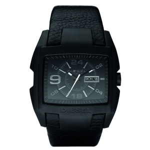 Diesel DZ1430 Watch Strap Black Leather
