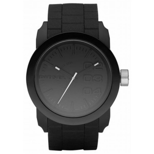 Diesel DZ1437 Watch Strap Black Rubber