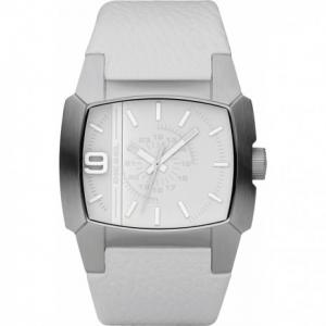 Diesel DZ1449 Watch Strap White Leather