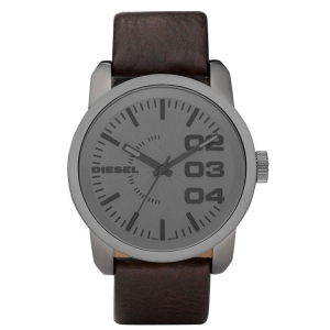 Diesel DZ1467 Watch Strap Brown Leather