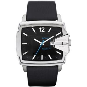 Diesel DZ1495 Watch Strap Black Leather