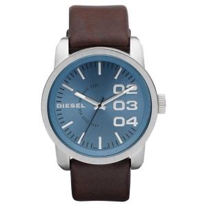 Diesel DZ1512 Watch Strap Brown Leather