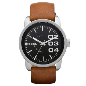 Diesel DZ1513 Watch Strap Brown Leather