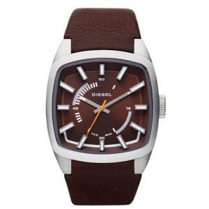 Diesel DZ1528 Watch Strap Brown Leather