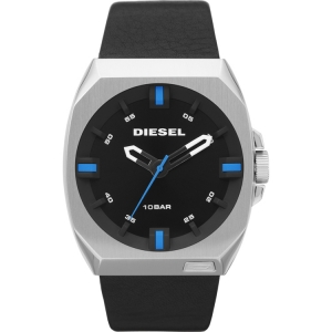 Diesel DZ1545 Watch Strap Black Leather