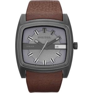 Diesel DZ1553 Watch Strap Brown Leather