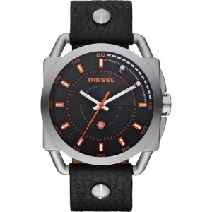 Diesel DZ1578 Watch Strap Black Leather