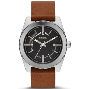 Diesel DZ1631 Watch Strap Brown Leather
