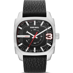 Diesel DZ1652 Watch Strap Black Leather