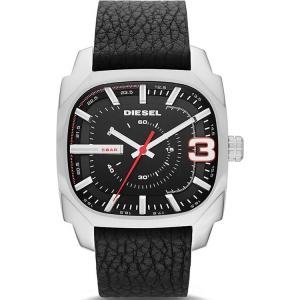Diesel DZ1652 Watch Strap Black Leather