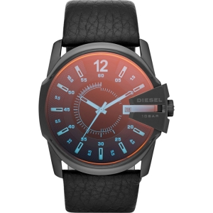 Diesel DZ1657 Watch Strap Black Leather