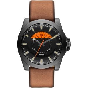 Diesel DZ1660 Watch Strap Brown Leather