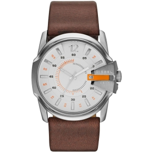 Diesel DZ1668 Watch Strap Brown Leather