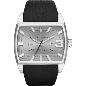 Diesel DZ1674 Watch Strap Black Leather