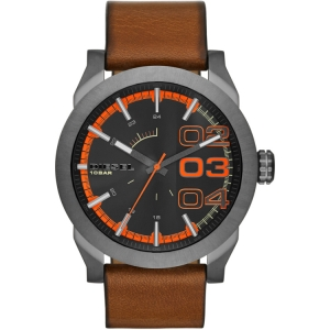 Diesel DZ1680 Watch Strap Brown Leather