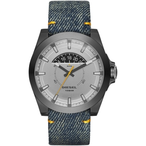 Diesel DZ1689 Watch Strap Denim Blue Leather