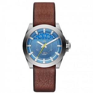 Diesel DZ1696  Watch Strap Brown Leather
