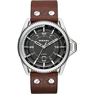 Diesel DZ1716 Watch Strap Brown Leather