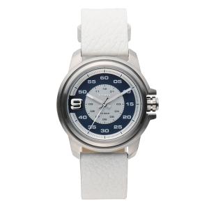 Diesel DZ1741 Watch Strap White Leather